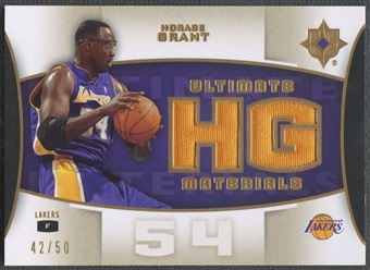 2007/08 Ultimate Collection #HG Horace Grant Materials Gold Jersey #42/50