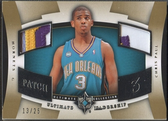 2007/08 Ultimate Collection #CP Chris Paul Leadership Patch #13/25