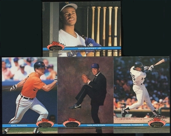 1991 Topps Stadium Club Baseball Complete Set (NM-MT)