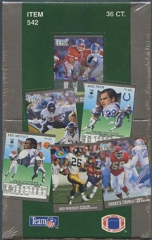 1991 Fleer Ultra Football Series 1 Wax Box