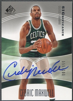 2004/05 SP Game Used #CE Cedric Maxwell SIGnificance Auto #099/100