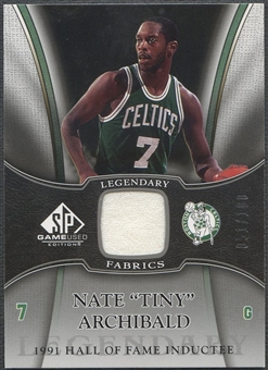 2006/07 SP Game Used #NA Nate Archibald Legendary Fabrics Jersey /100