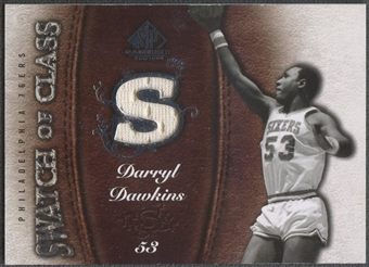 2007/08 SP Game Used #SCDD Darryl Dawkins Swatch of Class Jersey