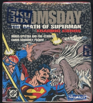 Doomsday The Death of Superman Box (1992 Skybox)