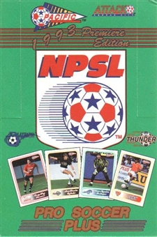 1993 Pacific NPSL Pro Soccer Wax Box