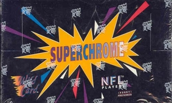 1993 Wild Card Superchrome Football Hobby Box