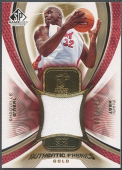 2005/06 SP Game Used #SO Shaquille O'Neal Authentic Fabrics Gold Jersey #087/100