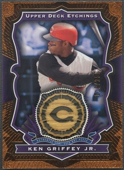 2004 Upper Deck Etchings #KG Ken Griffey Jr. Purple Game Bat #119/250