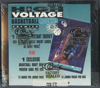 1995/96 Classic High Voltage Rookies Basketball Box