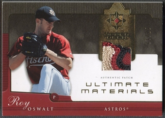 2005 Ultimate Collection #OS Roy Oswalt Materials Patch #17/25