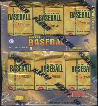 1995 Fleer Series 1 Baseball Jumbo Box