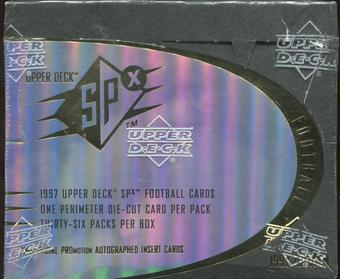 1997 Upper Deck SPx Football Hobby Box