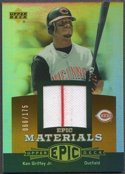 2006 Upper Deck Epic #KG1 Ken Griffey Jr. Materials Dark Orange Jersey #066/175