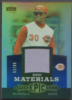 2006 Upper Deck Epic #KG3 Ken Griffey Jr. Materials Blue Jersey #52/99