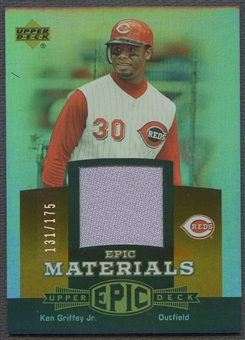 2006 Upper Deck Epic #KG3 Ken Griffey Jr. Materials Dark Orange Jersey #131/175