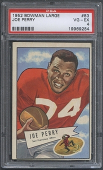 1952 Bowman Large Football #83 Joe Perry PSA 4 (VG-EX) *9254