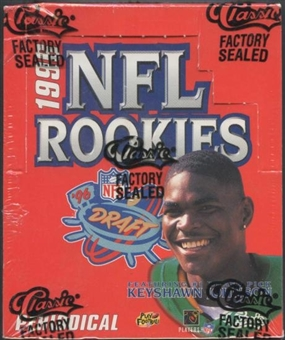 1996 Classic NFL Rookies Football Jumbo Box