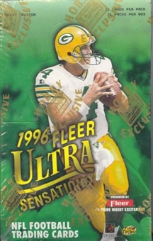 1996 Fleer Ultra Sensations Football Hobby Box