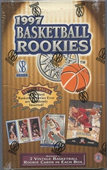1997 Scoreboard Rookies Basketball Retail Box