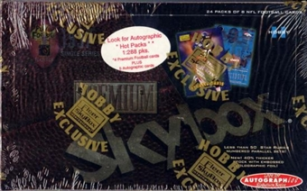 1997 Skybox Premium Football Hobby Box