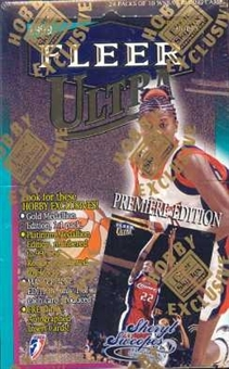 1999 Fleer Ultra WNBA Basketball Hobby Box