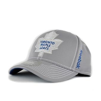 Toronto Maple Leafs Reebok Second Season Cap Grey Fitted Hat (Adult L/XL)
