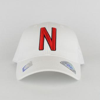 Nebraska Cornhuskers Top Of The Wold Premium Collection White One Fit Flex Hat (Adult One Size)