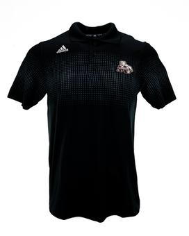 Mississippi State Bulldogs Adidas Black Performance Coaches Series Polo (Adult XL)
