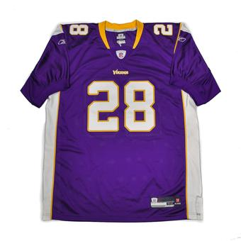 Adrian Peterson Minnesota Vikings Football Reebok Authentic Jersey (Adult XL)