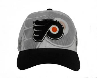 Philadelphia Flyers Reebok White Draft Cap Snapback Hat (Adult One Size)