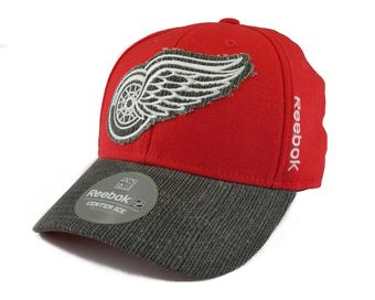 Detroit Red Wings Reebok Red Travel and Training Fitted Hat