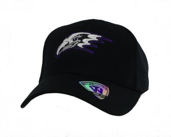 Niagara Purple Eagles Top Of The World Premium Collection Black One Fit Flex Hat (Adult One Size)