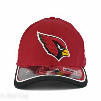 Arizona Cardinals New Era Maroon On Field 39Thirty Flex Fit Hat (Adult L/XL)