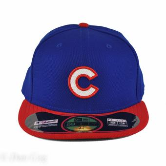 Chicago Cubs New Era Diamond Era 59Fifty Fitted Royal & Red Hat (7 5/8)