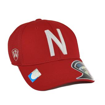 Nebraska Cornhuskers Top Of The World Resurge Red One Fit Flex (Adult One Size)