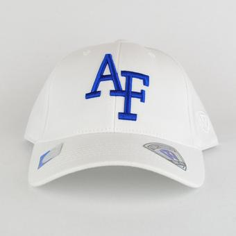 Air Force Falcons Top Of The World Premium Collection White One Fit Flex Hat (Adult One Size)