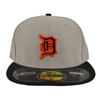 Detroit Tigers New Era Grey Diamond Era 59Fifty Fitted Hat (7 1/4)