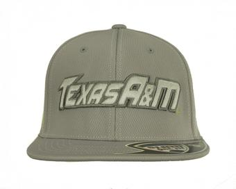 Texas A&M Aggies Top Of The World Razor Grey One Fit Flex Hat (Adult One Size)