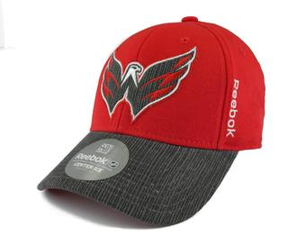 Washington Capitals Reebok Red Travel and Training Fitted Hat (Adult L/XL)
