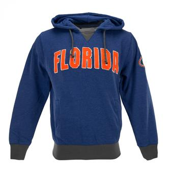 Florida Gators Colosseum Blue Flurry Pullover Fleece Hoodie (Adult XL)