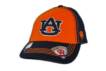 Auburn Tigers Top Of The World Haymaker Two Tone Navy One Fit Flex Hat (Youth One Size)