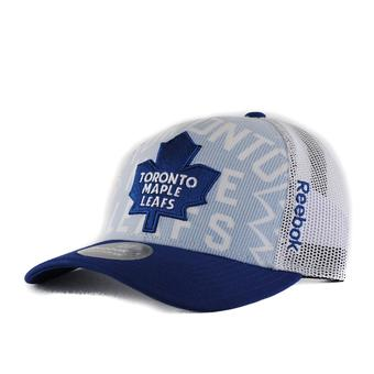 Toronto Maple Leafs Reebok White Draft Cap Structured Snapback Hat (Adult One Size)