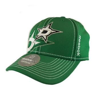 Dallas Stars Reebok Green Draft Cap Fitted Hat