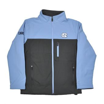 North Carolina Tar Heels Colosseum Blue & Grey Yukon II Full Zip Jacket (Adult L)