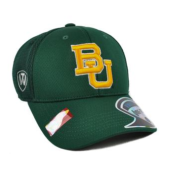 Baylor Bears Top Of The World Resurge Green One Fit Flex Hat (Adult One Size)