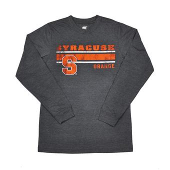 Syracuse Orange Colosseum Navy Warrior Long Sleeve Tee Shirt (Adult XXL)