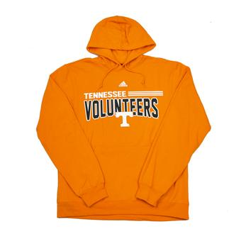 Tennessee Volunteers Adidas Orange Fleece Hoodie (Adult L)