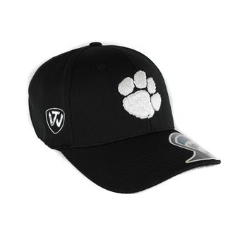 Clemson Tigers Top Of The World Ultrasonic Black One Fit Flex Hat (Adult One Size)