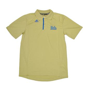 UCLA Bruins Adidas Gold Climalite Performance Coordinator Polo (Adult S)