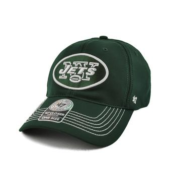 New York Jets '47 Brand Dark Green Game Time 47 Closer Stretch Fit Hat (Adult One Size)
